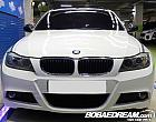 BMW 320d 블랙 앤 화이트